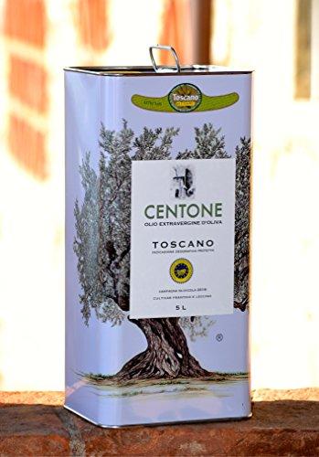 Olio extravergine di oliva alta qualità i.g.p. toscano - latta da l. 5