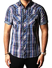 Dissident - Chemise casual - Manches Courtes - Homme