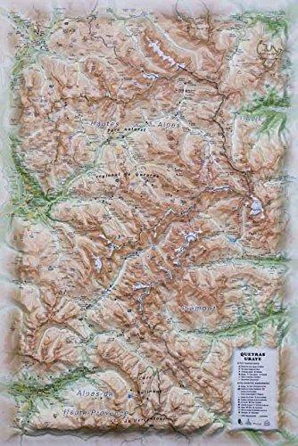 Descargar Libro Carte en relief du parc naturel régional du Queyras-Ubaye : 1/120 000 de 3D Map