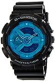 CASIO G Shock GA-110B-1A2 Hyper Colors Exclusive Light Blue 200m Water Resistant