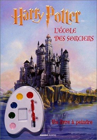 L'école des sorciers - Livre à peindre