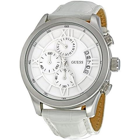 Guess W12101G1 - Reloj cronógrafo de cuarzo para hombre