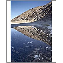 10x8 Print of Pool of water at Badwater, Death Valley National Park, California (5066983)