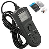 JJC Multi function Timer Remote replaces Canon for TC-80N3/RS-80N3