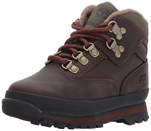 Timberland Unisex-Kinder Euro Hiker Chukka Boots, Braun (Medium Brown Full Grain), 39 EU