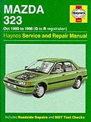 Mazda 323 (Oct 89 - 98) G to R: Service & Repair Manual (Haynes Service & Repair Manuals)