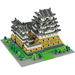 Nanoblock Architecture - Himeji Castle (Non-lego) - 2253 Pieces (japan import)