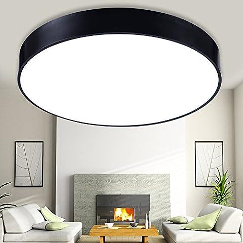 GB&AM Luz de techo acrílico minimalista moderno y elegante atmósfera (con una personalidad muy saludable de atenuación de 48cm*10