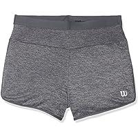 Wilson G Core 3.5 Pantalón Corto de Tenis, niños, Gris (Pearl Gray/Turbulence), SM