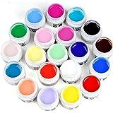 lifec tipo de 11pcs, la Reine Mix Color UV Gel Builder adhesivo acrílico gesetzt uñas sintética