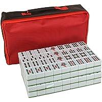 Mahjong de Gran Tamaño Mahjong hogar 37mm ~ 42mm Mano-Mahjong Bolso de Mano Mah Jong (Tamaño : 42#)