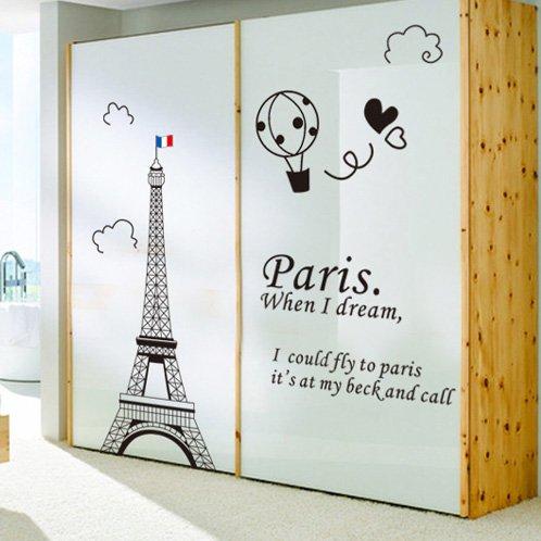 JinTie abnehmbare Wandaufkleber Wall Art Wall Papieraufkleber Ornamenten verziert Wohnzimmer Arbeitszimmer Tapete - style Zebra A, 05 Tower, extra große (Groß Katze-bäume Und Türme)