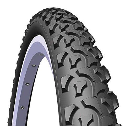 Rubena/MITAS Unisex rápido alambre neumático de perlas, color negro, talla 26x 2,00