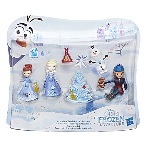 (Hasbro Disney Die Eiskönigin C1921EU4 - Olaf taut auf Little Kingdom Freunde-Set, Spielset)