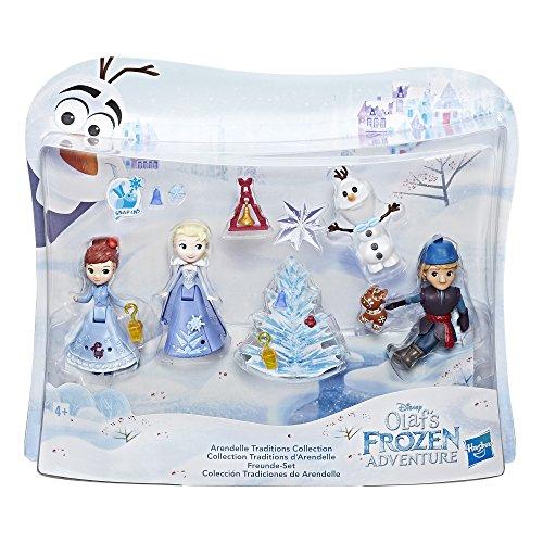 Hasbro Disney Die Eiskönigin C1921EU4 - Olaf taut auf Little Kingdom Freunde-Set, ()