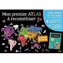 Mes premiers coffrets d'apprentissage - Mon premier atlas à reconstituer (Nouvelle édition 2016)