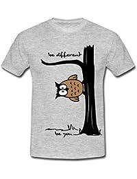 """leichtes Mountain Warehouse Damen-T-Shirt mit Druck """"Be Different"""" Skisport & Snowboarding"""