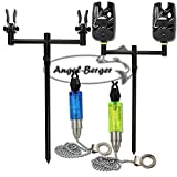 Angel-Berger Black Quick Rod Pod Bissanzeiger