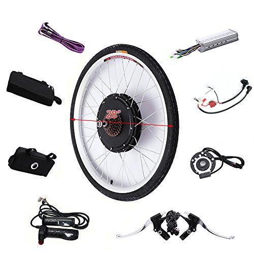 """OBLLER 28\"""" 36V/250W Elektro-Fahrrad Kit Hinterrad Ebike Elektrofahrrad Umbausatz Kit und Rad(36V 250W)"""