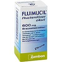 Preisvergleich für Fluimucil Hustenlöser akut 600 Brausetabletten 10 stk
