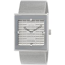 EOS New York 303SSTL Petra Steel Malla de Acero Swarovski Mujer Reloj