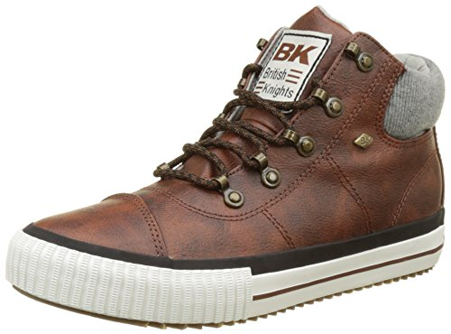 British Knights Reckon, Baskets Hautes Femme Marron (chestnut/lt Grey)