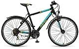 Crossrad Winora Tonga Herren 28' 21-Gang Shimano TX35 , Rahmenhöhen:56;Farben:schwarz/jade matt