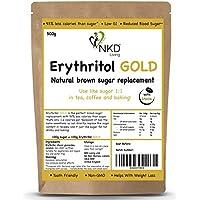Eritritol GOLD 500 g - Alternativa natural al azúcar moreno con estevi