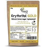 Erythritol GOLD 500g - Natural Brown Sugar Alternative with Stevia