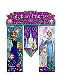 Best Hallmark Kids Costumes - Disney Frozen Birthday Banner - Birthday Party Supplies Review