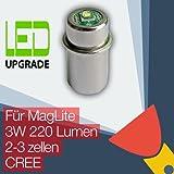 MagLite LED Upgrade Ersatz lampe Taschenlampen 2D/2C 3D/3C zellen CREE CNC