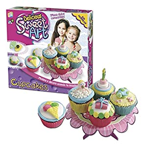 Sweet Art - Cupcakes, Juego para cocinar (Cefa Toys 21741)