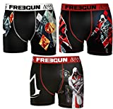 Boxer Freegun homme Assassin's creed (S, Pack de 3 asst2)