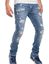Red Bridge Homme Jeans / Jeans Straight Fit Destructive