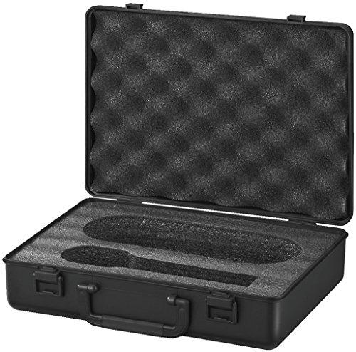 Monacor MC de 1/SW Micrófono maletín de transporte negro