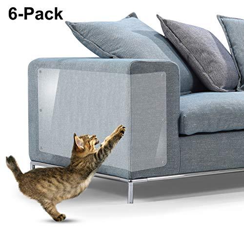 IN HAND, Möbel-Kratzschutz, Größe XL, Premium, flexibler Vinyl-Katzenkratzschutz, mit Bolzen, Schutz Ihrer Polstermöbel, 45,7 x 30,5 cm