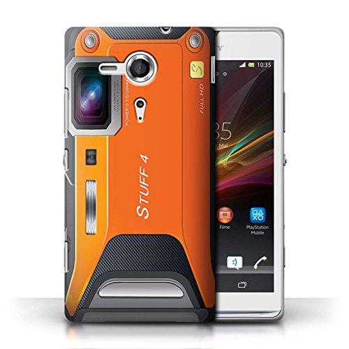 Coque en plastique pour Sony Xperia SP/C5303 Collection Appareil Photo - Caméscope Sportif