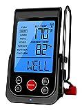 barbecook Grillzubehör, Funk-Thermometer, schwarz, 13 x 7 x 6 cm, 2230219000