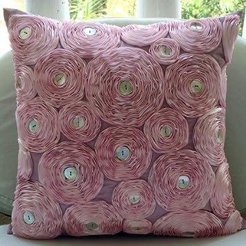 Entwerfer rosa kissenbezüge, band rosa floral theme kissen decken ...