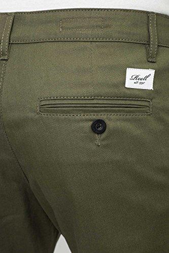 Reell Straight Flex Chino Pantaloni pc olive