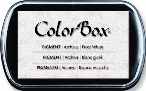 ColorBox Pigment Ink Pad-Frost White