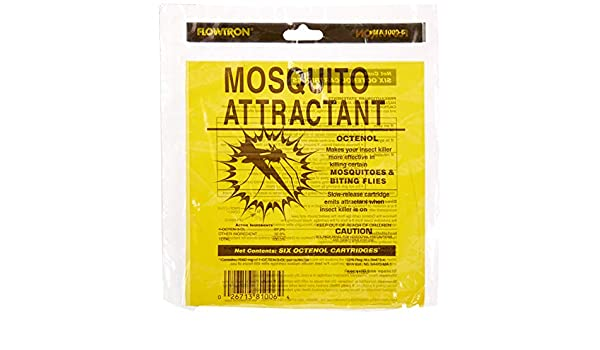 Flowtron MA 1000 6 Octenol Mosquito Attractant Cartridges 6 Pack