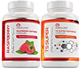 T5 FAT BURNERS x60 + RASPBERRY KETONES 1000mg x60 Slimming Pills | Weight Loss Capsules that Work Fast | Can Help Boost Metabolism + Increase Energy | Thermogenic Body Fat Burners | 120 Fat Loss Pills