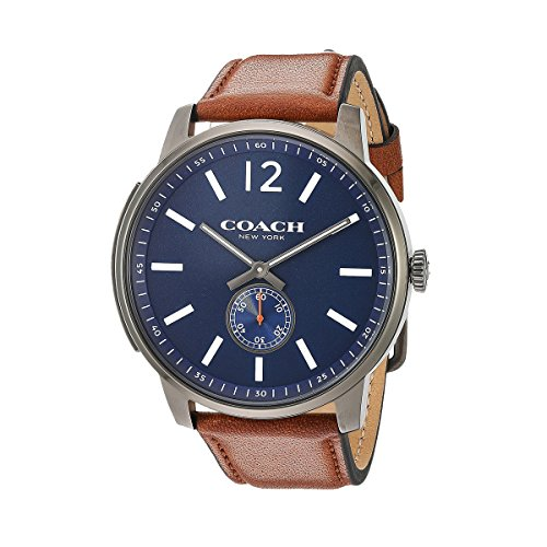 Coach Mens Watch Analog Casual Quartz Watch 14602083