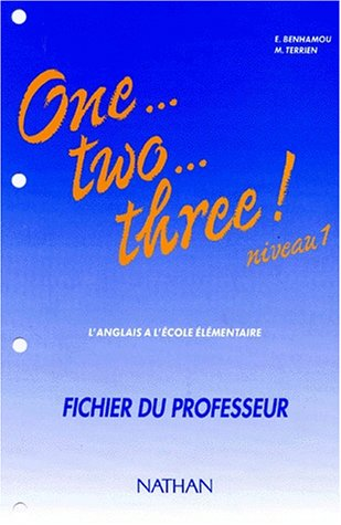 One two three, CM1, maître