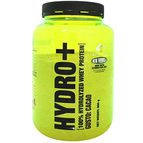 4+ NUTRITION Hydro+ 900 gr. Proteine del siero del latte Idrolizzate Gusto Vaniglia + Vitamine - 51SPQ3F%2BNbL