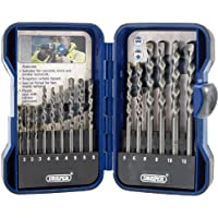 Draper EBS15MAS Masonry Drill Bit Set (15 Pieces)