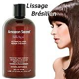 Lissage Brésilien, Soin Lissant SilkAçai Kératine 473 ml