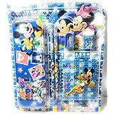Kid Stationary Set   School Supply Set   Pencil Gift Set   Pencils Eraser SHARPER Mini Diary Box   6 Pcs (Mickey Mouse)