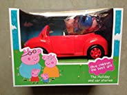 Peppa Pig car with 4 Figures Peppa Pig Family Picnic Toys